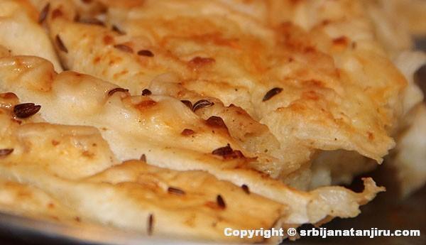 Pita sa sirom od seljačkih kora