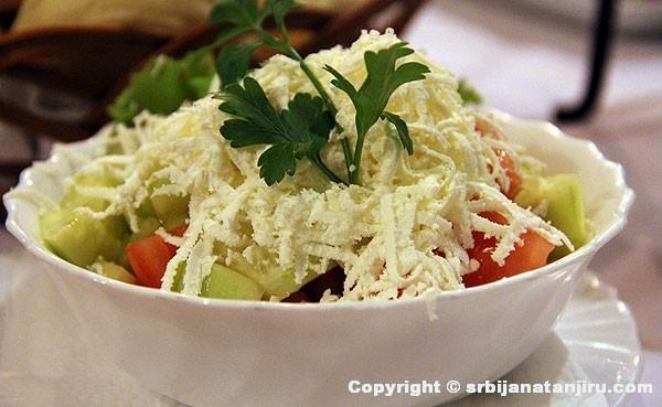 Restoran Mika Alas - Šopska salata