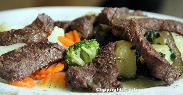 Biftek u maslinovom ulju