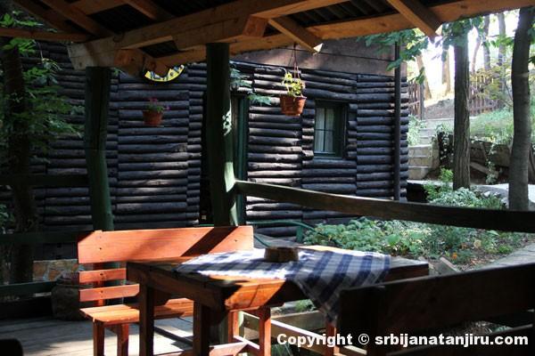 Terasa restorana Lovački raj