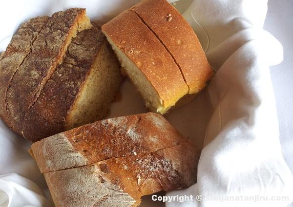 Tri vrste hleba