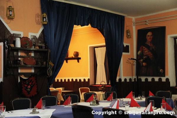 Restoran Tulba - enterijer