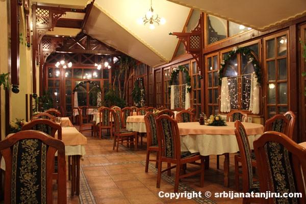 Enterijer restorana