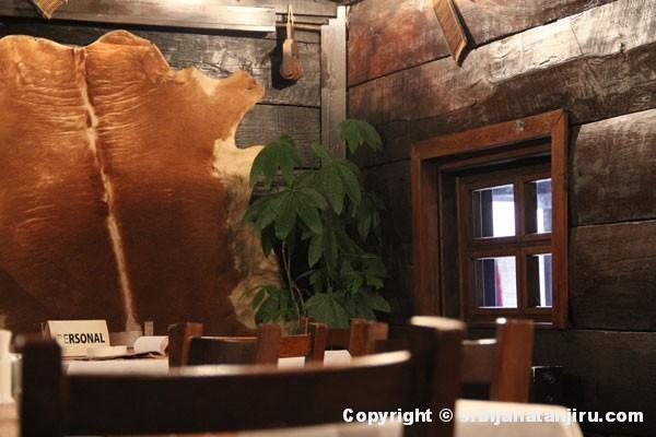 Restoran Vajat - enterijer
