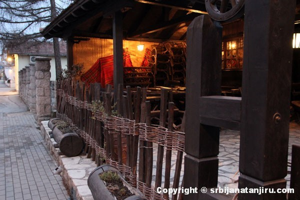 Restoran Vajat - bašta restorana