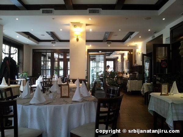Restoran Devetka - enterijer