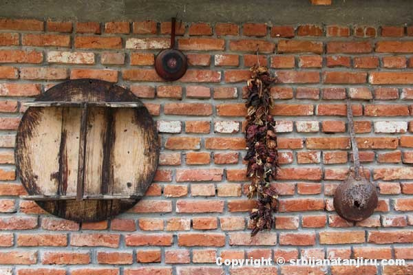 Zornića kuća - zid