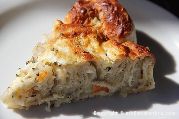 Pita sa sirom od heljdinih kora