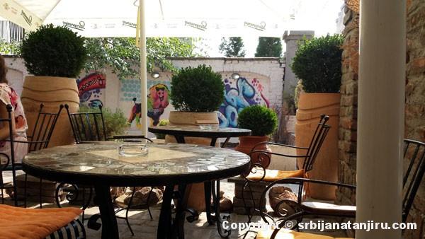 Picerija Botako - bašta restorana