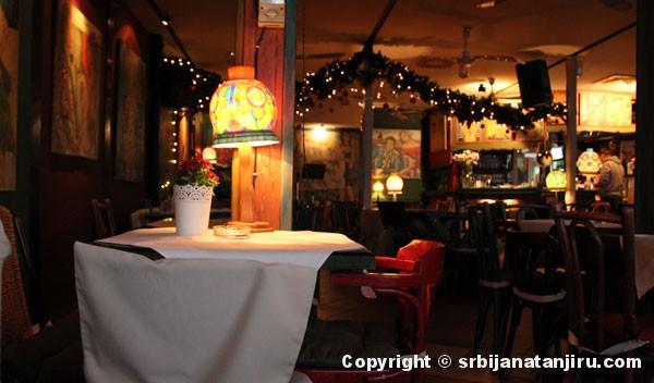 Restoran Reka - enterijer
